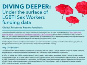 Diving Deeper: Factsheet LGBTI Sex Worker Funding